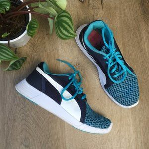 Puma Blue&White Athletic Sneakers  5.5